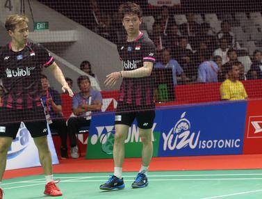 Kevin/Marcus Tatap Perempat Final Indonesia Masters 2020