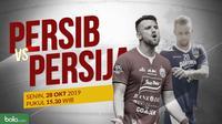 Shopee Liga 1 2019: Persib Bandung vs Persija Jakarta. (Bola.com/Dody Iryawan)
