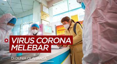 Berita video tentang kalender event olahraga yang ditunda akibat virus corona yang makin melebar di dunia olahraga.
