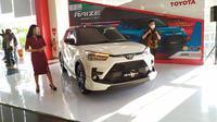 Toyota Raize mengaspal di Surabaya (Dian/ Liputan6.com)