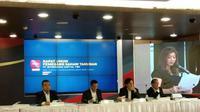 Konferensi pers PT Intermedia Capital Tbk pada Rabu, 29 Mei 2019 (Foto: Merdeka.com/Wilfridus S)
