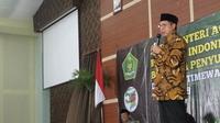 Menteri Agama Lukman Hakim Saifudin menyapa 1.000 penyuluh agama se-DIY di UIN Sunan Kalijaga
