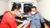 Wakil Gubernur (Wagub) Sumut, Musa Rajekshah, tergerak untuk mendatangkan mobil Palang Merah Indonesia (PMI) Medan ke Rumah Dinas di Jalan Teuku Daud Medan.