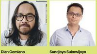 Dua kandidat Ketua IDA: Sundjoyo Sukowijoyo, VP Sales Strategic & Operations Emtek Digital dan Dian Gemiano, Chief Marketing Officer KG Media. Dok: ida.or.id
