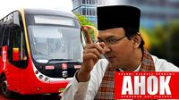 Ahok Transjakarta Busway (Liputan6.com/Sangaji)