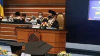 Wisuda Universitas Airlangga pada Sabtu, (19/9/2020) (Foto: Dok Universitas Airlangga)