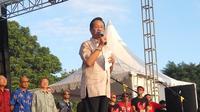 sejumlah tokoh menyerukan persatuan dalam deklarasi Bulan Pancasila melalui Konser Indonesia Damai #PANCASILARUMAHKITA di Yogyakarta