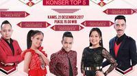Konser Top 5 D'Academy Asia 3 (Indosiar)