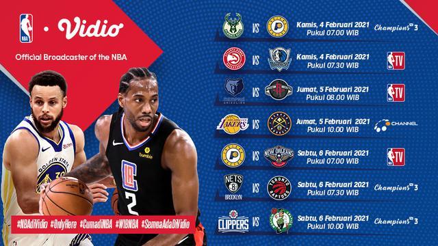 Link Live Streaming Big Game NBA di Vidio, Sabtu 6 ...
