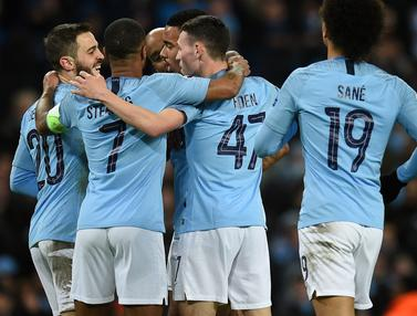 Manchester City ke Perempat Final