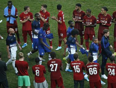 Kekecewaan Pemain Chelsea Gagal Juara Piala Super Eropa