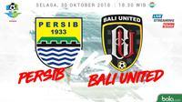 Liga 1 2018 Persib Bandung Vs Bali United (Bola.com/Adreanus Titus)