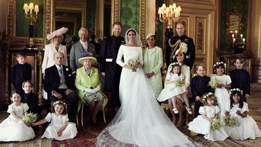 [Fimela] Potret Pernikahan Pangeran Harry dan Meghan Markle