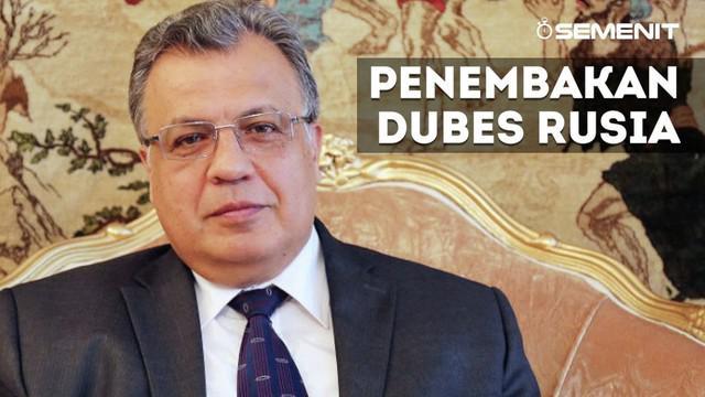 Dubes Rusia yang tertembak di Turki ternyata memiliki beberapa fakta yang patut untuk disimak.