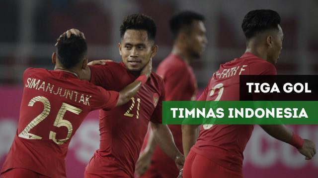 Berita video 3 gol Timnas Indonesia ke gawang Timor Leste pada matchday ke-2 Piala AFF 2018, Selasa (13/11/2018) di Stadion Utama Gelora Bung Karno.