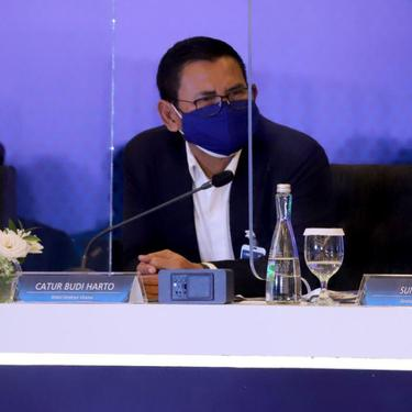 Wakil Direktur Utama PT. Bank Rakyat Indonesia (Persero) Tbk Catur Budi Harto