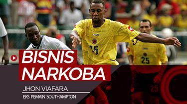 Berita video mantan pemain Southampton, Jhon Viafara, ditangkap polisi Kolombia karena terlibat bisnis narkoba.