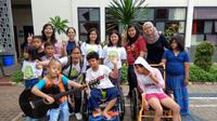 Mengawali tahun 2018, Komunitas Kelana mengunjungi Panti Asuhan Yayasan Sayap Ibu Bintaro.