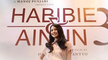 Maudy Ayunda terpilih untuk memerankan sosok Ibu Ainun saat muda di Habibie & Ainun 3 (Liputan6.com/Instagram/habibieainunmovie)