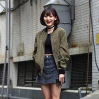 Mix and match jaket parka ala Korean style. (sumber foto: kenh14.vn/pinterest)