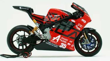 Delta-XE superbike listrik rancangan mahasiswa Belanda