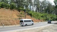 Titik rawan longsor di Sengkala, Lumbir, Banyumas, Jawa Tengah. (Foto: Liputan6.com/Muhamad Ridlo)