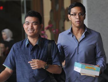 Ekspresi Putra Setya Novanto Usai Kembali Diperiksa KPK