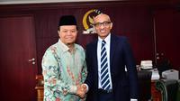 HNW dan Duta Besar Singapura untuk Indonesia Ali Kumar Nayar.