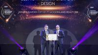Jakarta Garden City Memenangkan Penghargaan Best Township Masterplan Design Jakarta di PropertyGuru's Indonesia Property Awards 2019