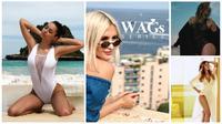 Deretan wanita cantik WAGs Kolombia. (Instagram)