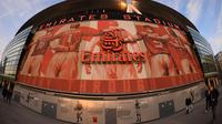 Kandang Arsenal, Emirates Stadium. (AFP/Glyn Kirk)
