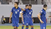 Timnas Thailand masuk dalam 10 besar peringkat AFC dengan koleksi 42.568 poin.  (Bola.com/Nicklas Hanoatubun)