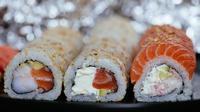 Sushi, makanan khas Jepang. (dok. pexels.com/Asnida Riani)