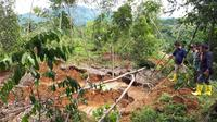 Longsor di Kecamatan Nanggung.