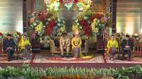 Kahiyang Ayu dan Bobby Nasution. (YouTube)