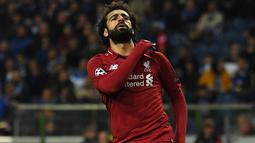 1. Mohamed Salah (Liverpool) - 22 gol dan 8 assist (AFP/Paul Ellis)