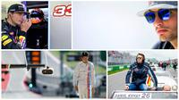 5 Pebalap Muda Formula 1 (AFP)