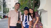 Ruben Onsu berama Sarwendah dan Betrand Peto (Instagram/ruben_onsu)