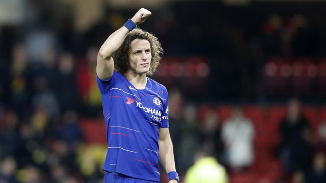 David Luiz Minta Chelsea Pertahankan Sarri