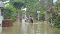 Ilustrasi - Banjir Sidareja, Cilacap pada 2016. (Foto: Liputan6.com/Muhamad Ridlo)