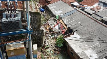 Kondisi Terkini Banjir dan Longsor di Ciganjur