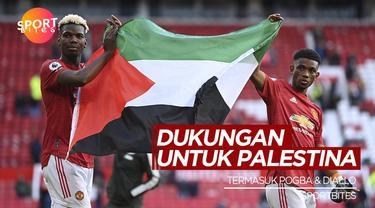 Berita Video Termasuk Paul Pogba dan Amad Diallo, Berikut Pesepak Bola yang Berikan Dukungan Untuk Palestina