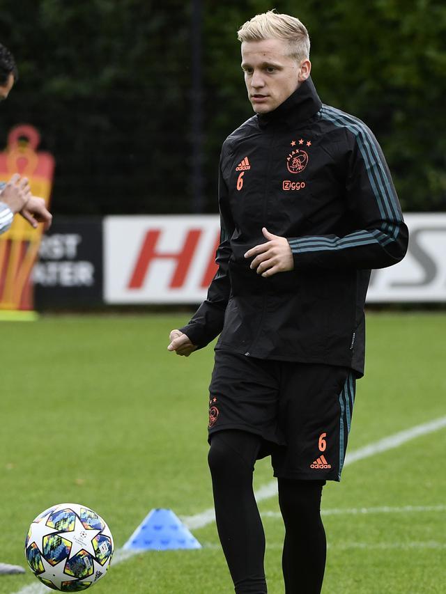 Semangat Pemain Ajax Jelang Hadapi Chelsea