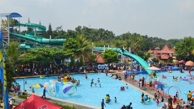 Owabong Waterpark (Foto: Liputan6.com/Dinkominfo PBG/Muhamad Ridlo)