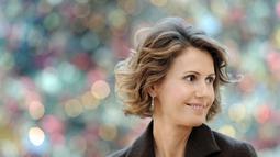 Asma al-Assad adalah istri Presiden Syria, Bashar al-Assad. Asma lulusan universitas King's College London dan aktif dalam organisasi amal dan badan kemanusiaan serta gerakan emansipasi wanita di Suriah (Istimewa)