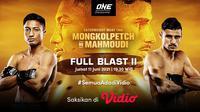 Live Streaming One Championship : Full Blast II di Vidio Malam Ini, Jumat 11 Juni 2021. (Sumber : dok. vidio.com)