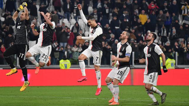 Gilas AS Roma, Juventus Lolos ke Semifinal Coppa Italia