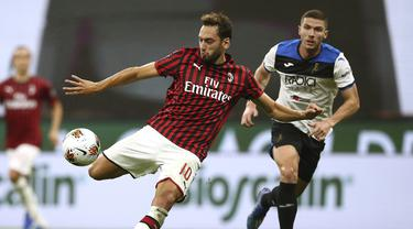 FOTO: AC Milan Ditahan Imbang Atalanta di San Siro