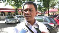 Direktur Reserse Kriminal Khusus Polda Sulsel, Kombes Pol Yudhiawan memastikan segera menaikkan status kasus dugaan korupsi pembangunan halte BRT di Sulsel ke tahap penyidikan (Liputan6.com/ Eka Hakim)