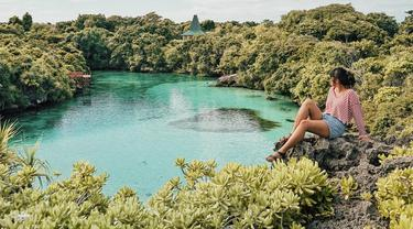 Danau Weekuri, Sumba, Nusa Tenggara Timur. (Instagram/kadekarini)